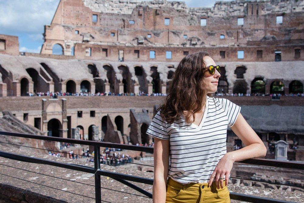 Roman Coliseum, Spring Europe trip 2017