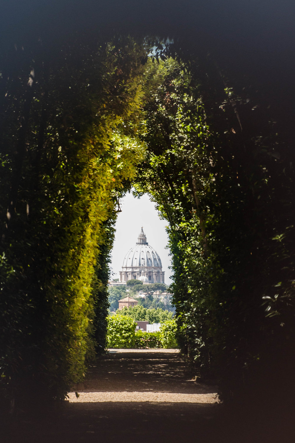 The Secret Keyhole, Aventine Hill, Rome Italy