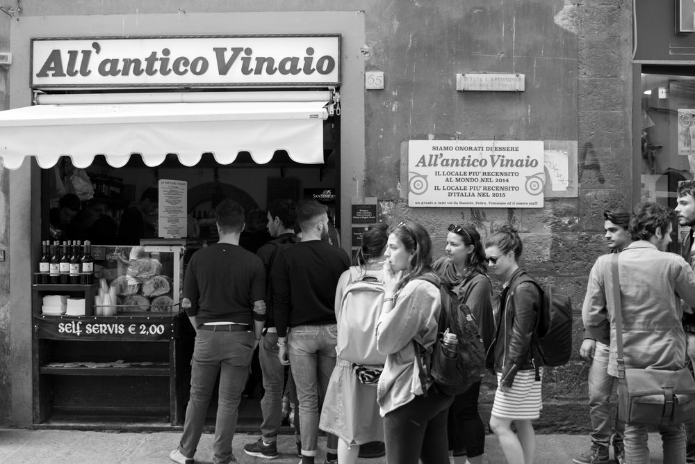 All'Antico Vinaio, Florence Italy