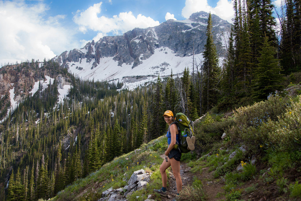 Summer backpacking in the Wallowas, Eagle Cap Wilderness, Oregon