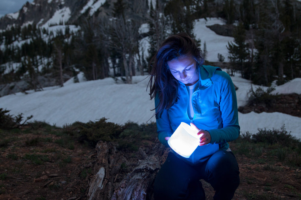 Light up your campsite using MPowered solar lights.