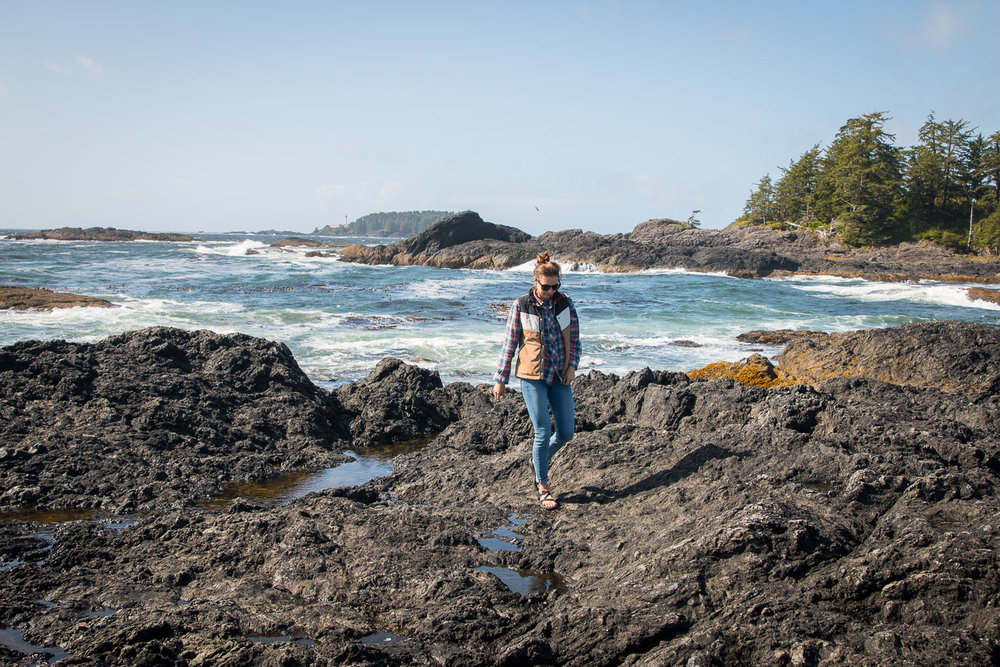 Exploring Chesterman Beach in Tofino, Summer 2017