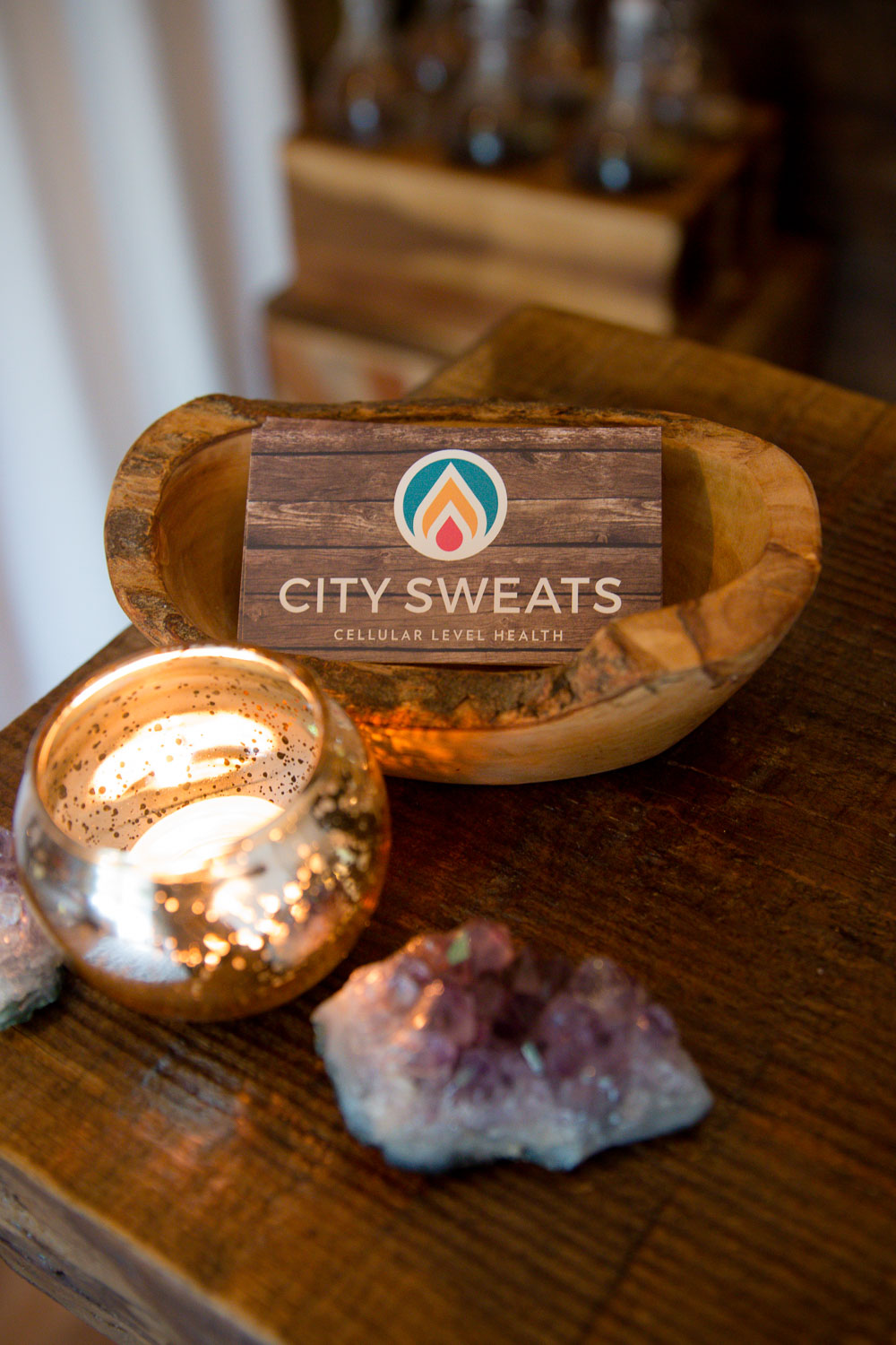 City Sweats is a holistic spa located in Seattle that specialized in Infrared Sauna Therapy, therapeutic massage, lymphatic drainage, and holistic facials.