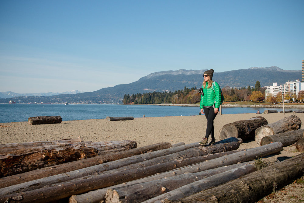 Walking around English Bay, Vancouver Canada, November 2017