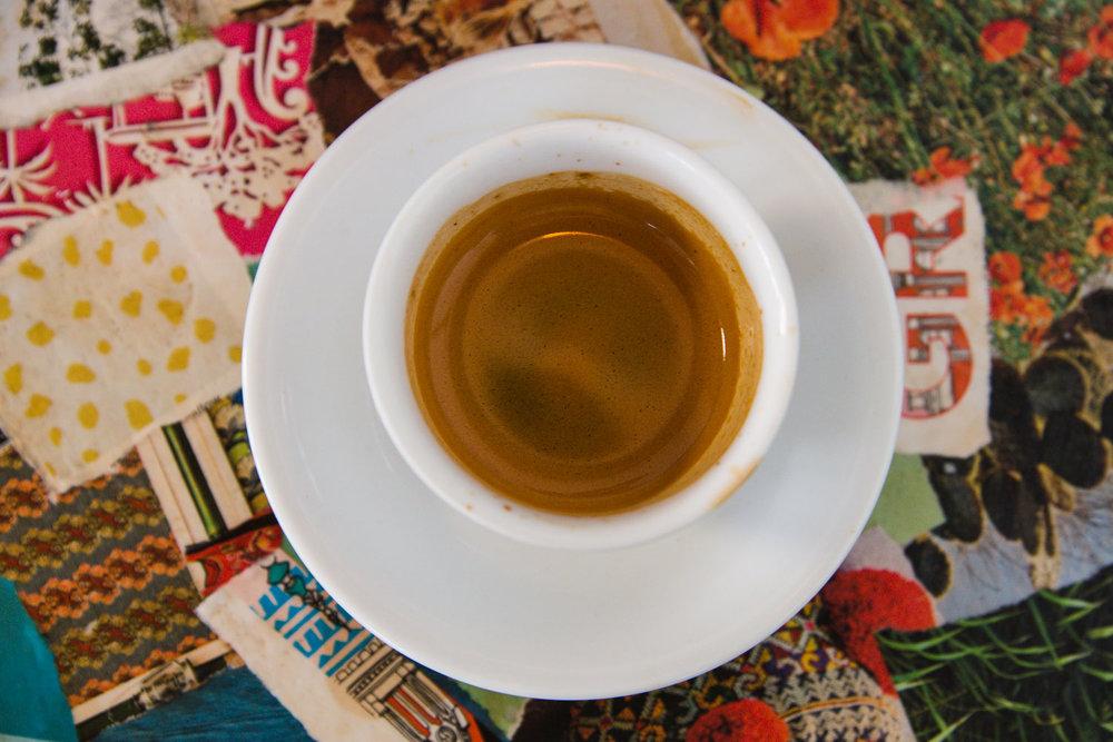 Espresso from Beacon in Oaji, CA.