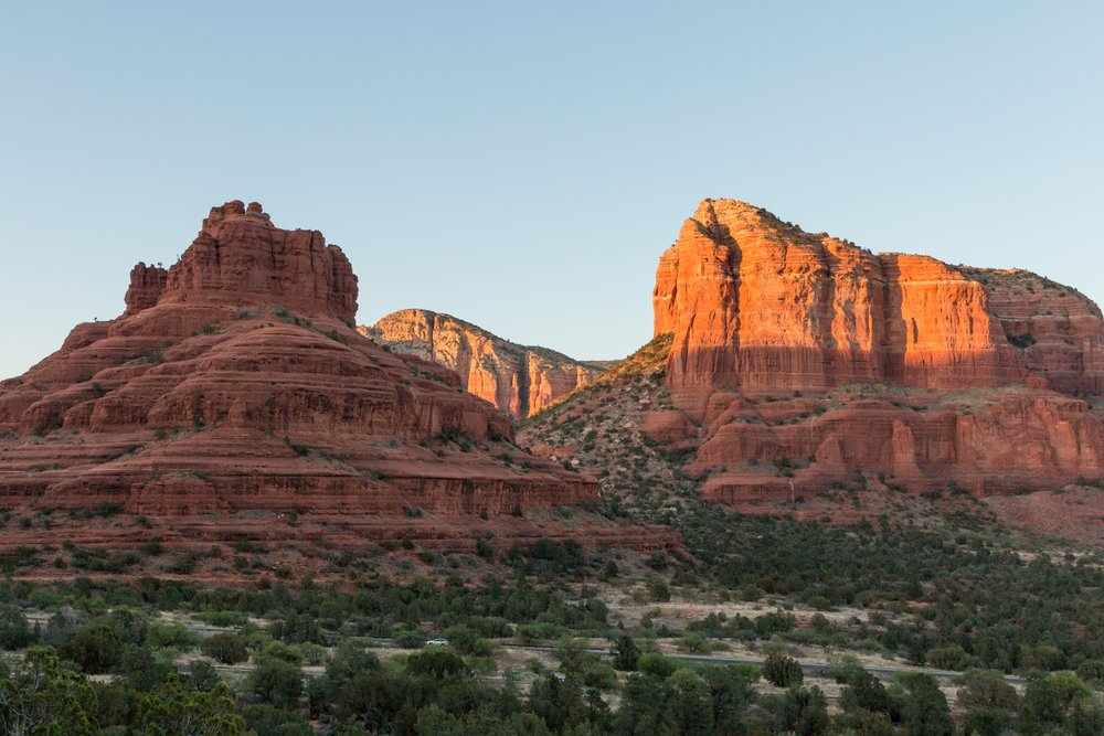 Bell Rock at Sunset from the Made in the Shade trail