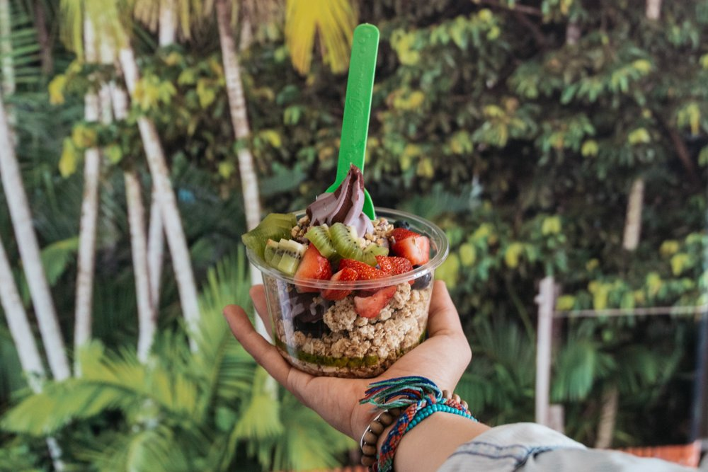volcano bowl at Berry Divine
