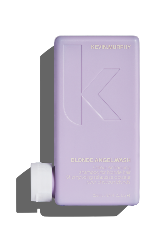 Blonde angel wash $32 - Make every moment a bombshell moment, and banish brassy tones with BLONDE.ANGEL WASH. Lavender-infused, color enhancing shampoo takes on all tones – from creamy to platinum, and with the help of added optical brighteners rescues dull color – taking it from drab back to fab. Helps restore shine and brightness and maintain 'cooler' tones. Gentle enough to use every wash.