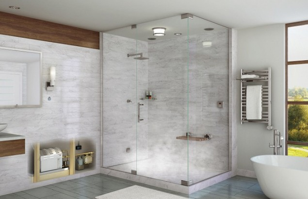 Frameless Glass Enclosures - Frameless shower glass doors are beautiful, luxurious, and an excellent addition to any modern bathroom. Add a unique touch and a clean, sleek look to your bathroom.Learn More