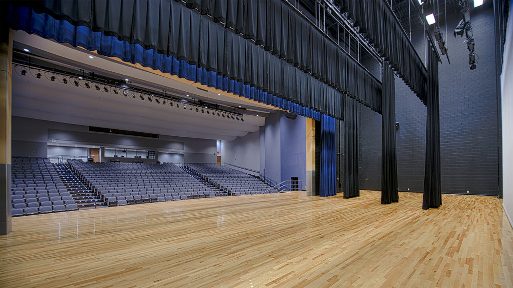 Ringgold High School   The Fine Arts Addition to the Ringgold High School includes a 950 seat performance theatre with a full fly loft, theatrical rigging system, and stage lighting. A 5,800 sf Band Room and two 2,300 sf Art Classrooms are also part of the project.