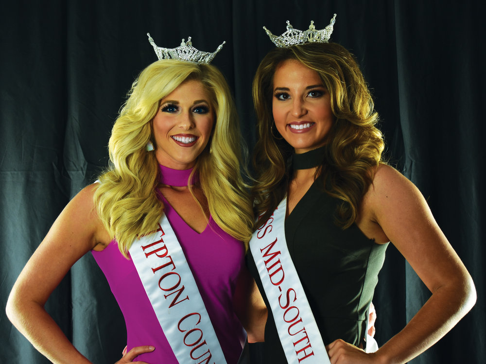 Madison Butler (left) and Delaney Timberman (right).