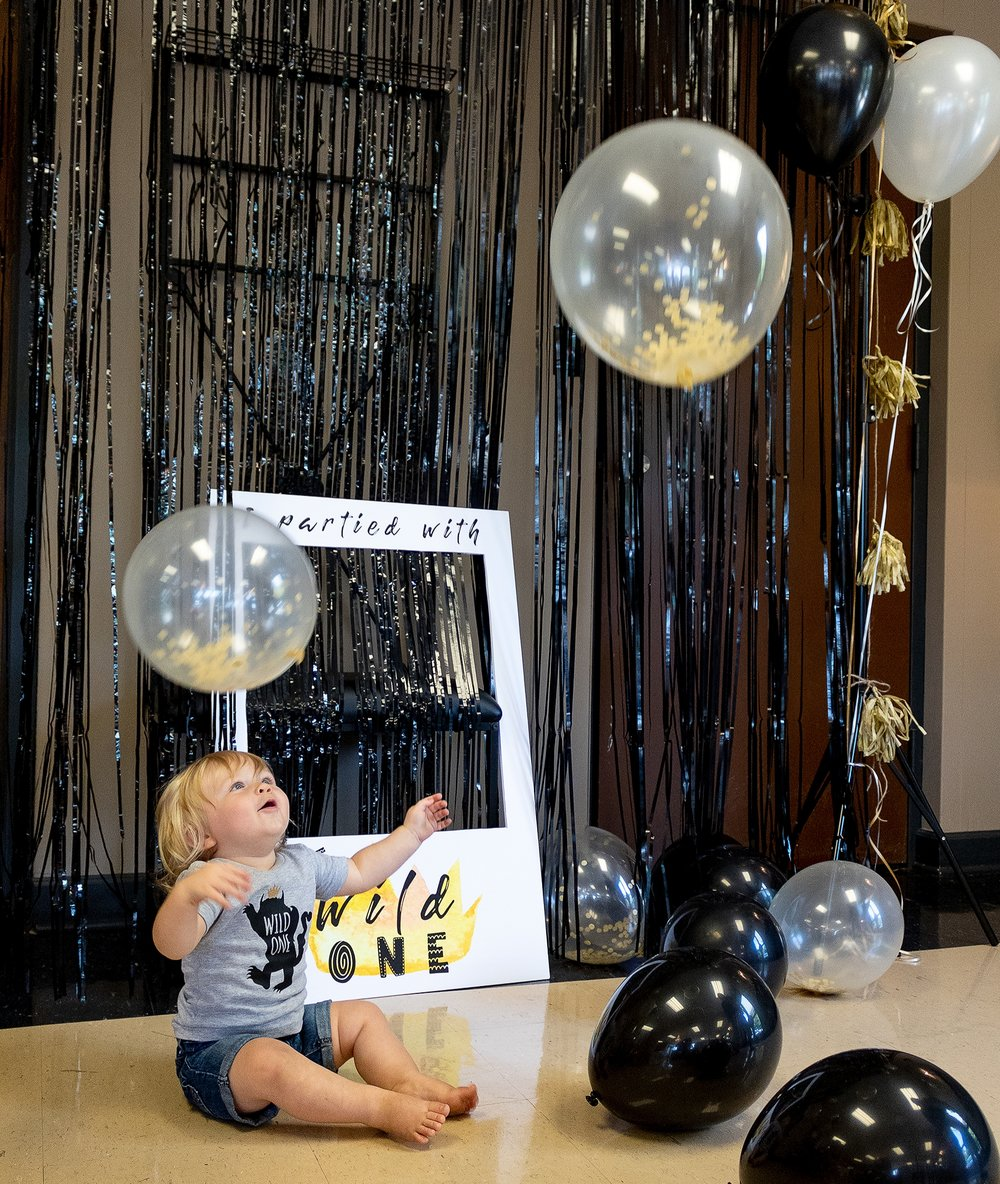 "Jace McKinley's, ""Where the Wild Things Are"" themed, first birthday party from our September/October issue."
