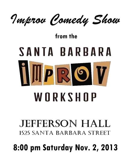 Improv Show Nov. 2