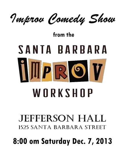 Improv Show 12/07/13