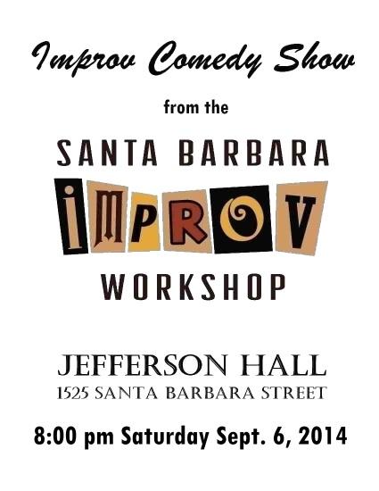 Improv Show 9-6-14