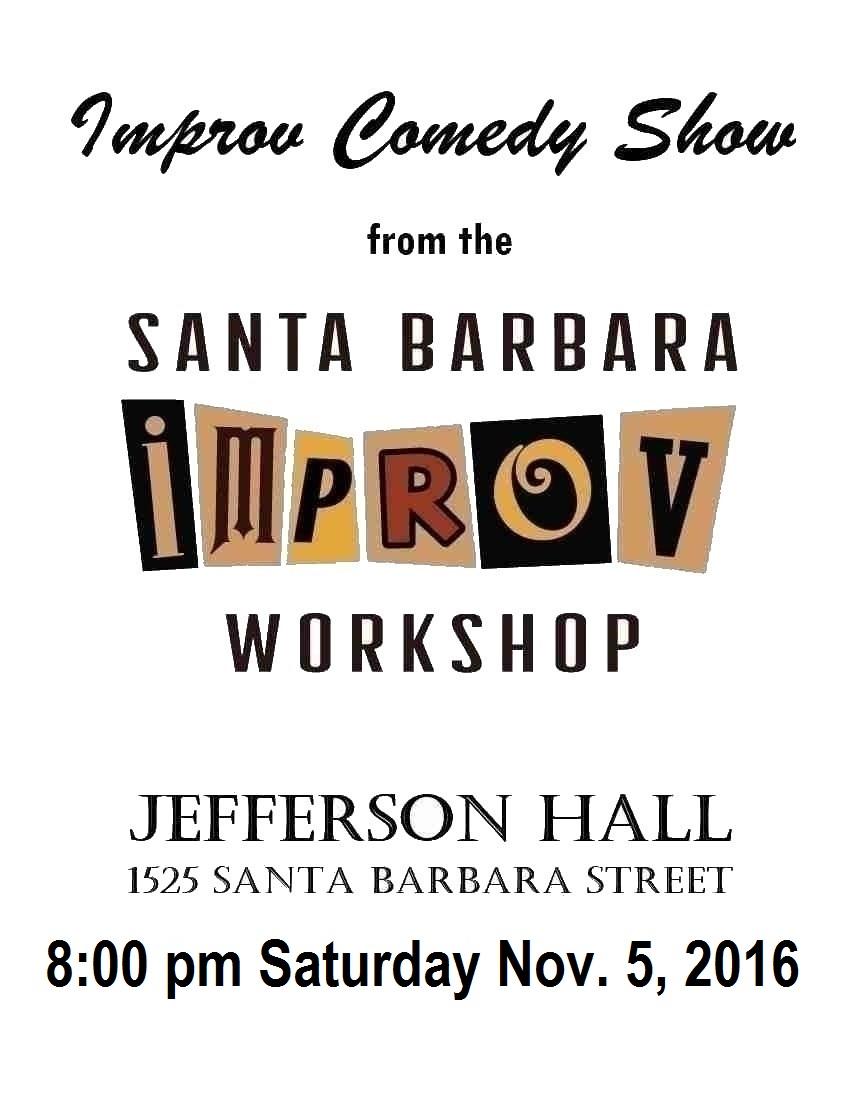 Nov. Improv Show