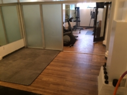 And, our 24-Hr Yoga Room or Stretch Room .