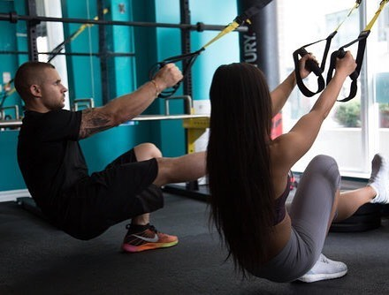 The secret to getting ahead is getting started. #personaltrainer #personaltraining #personaltrainingtoronto #fitness #personaltrainertoronto #together #couples #couplesgoals #strength #trx #trainerlife #toronto #gym #lifestyle #downtowntoronto #yourhousefitness #yourhouseclinic #gymtoronto