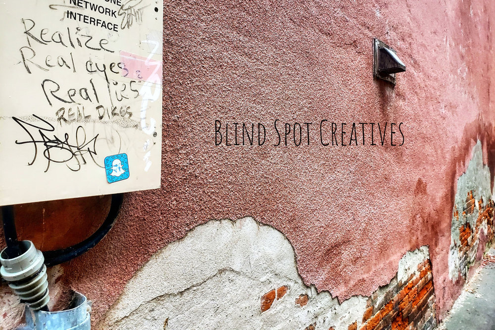 Blind Spot Creatives - Photography - Realize - Turn It Off Poem