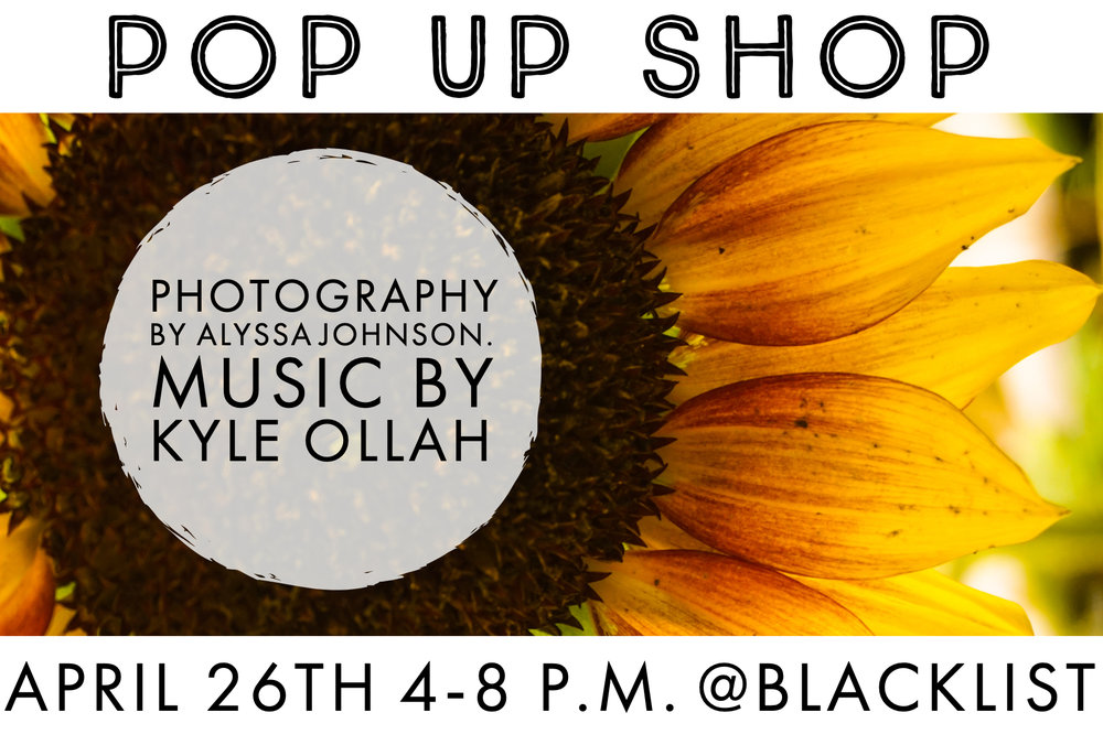 Blind Spot Creatives - Duluth Photography - Pop Up Shop - Alyssa Johnson