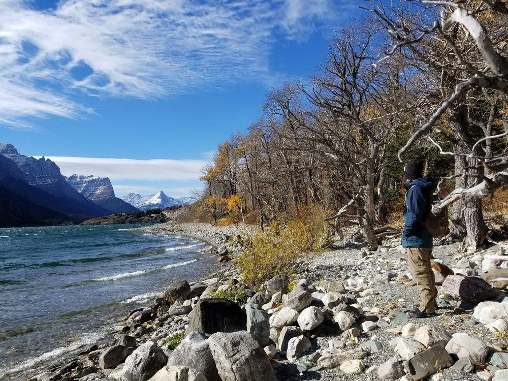 St Marys Lake - Glacier NP