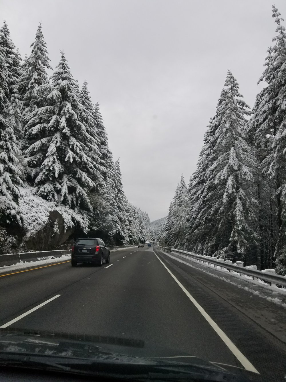 Winter Driving Views