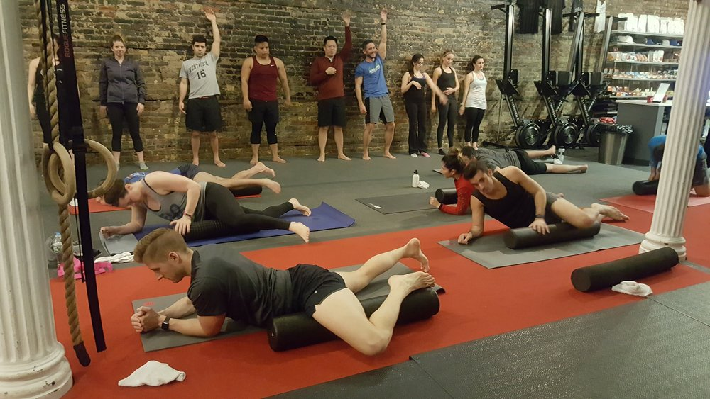 Mobility Class - Crosstown Fitness Chicago