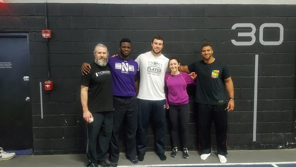 NFL Preseason Mobility training - TCBoost Northbrook IL