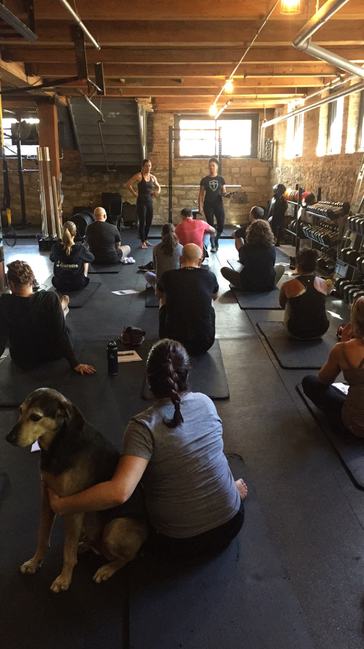 Kettlebell and Core Workshop- at On Your Mark Training, Chicago, IL