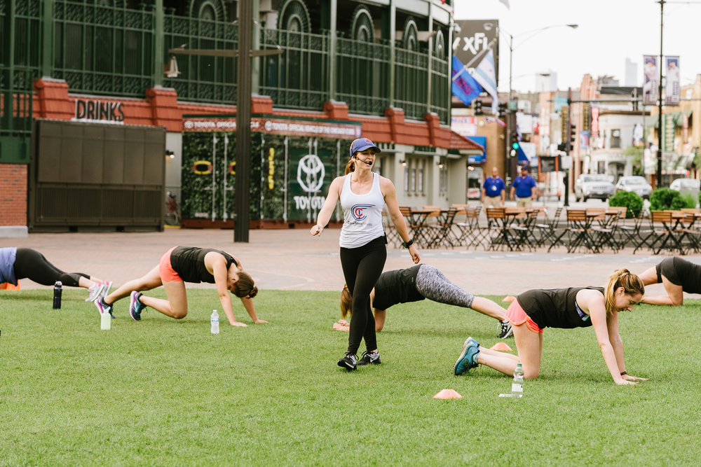 Training in the Park - Wrigley Field, Chicago IL