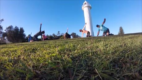 Pre Wedding day yoga - Yamba, NSW