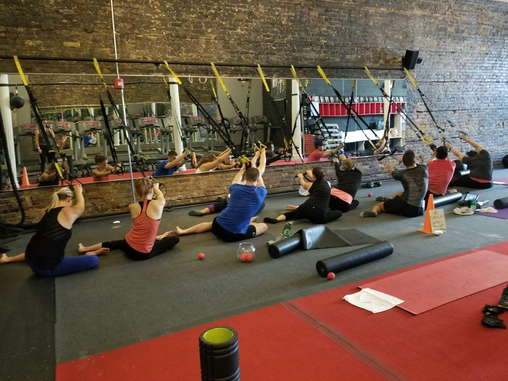 Mobility class - Crosstown Fitness, Chicago