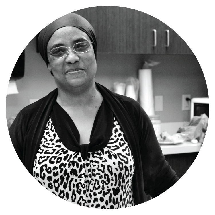 Ibti, from Sudan, is known for the famous soups she started making while running the kitchen at Caritas Village. She is actively growing a business called Ibti's Soup & Catering.