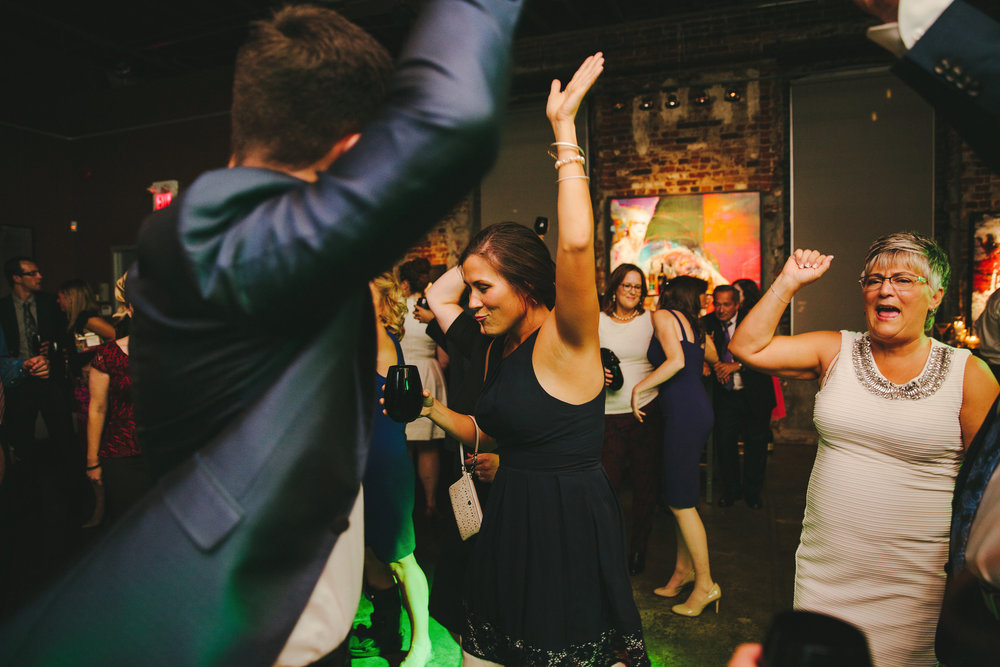 Thompson Landry Gallery Wedding, Rich Sweet Toronto DJ Services, Frances Beatty Photography