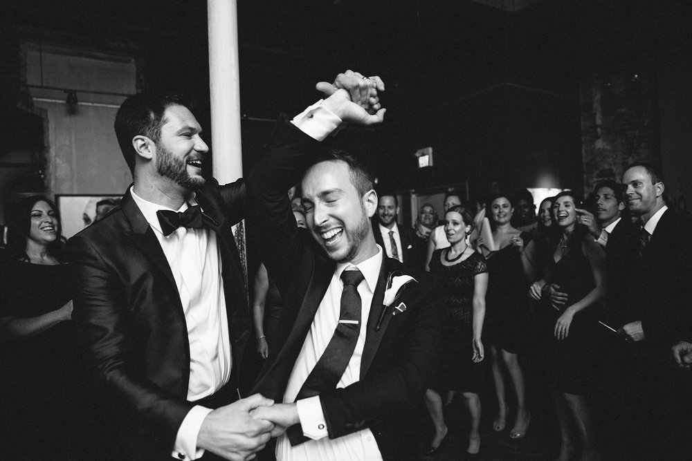 Justin & JD's Thompson Landry Gallery Wedding, Photo by Frances Beatty