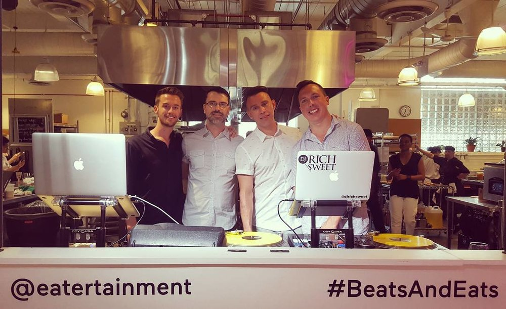 Eatertainment Beats + Eats Summer Party