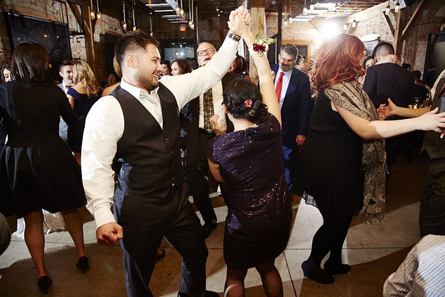 Nicole and Will's Archeo Wedding in Toronto's Distillery District