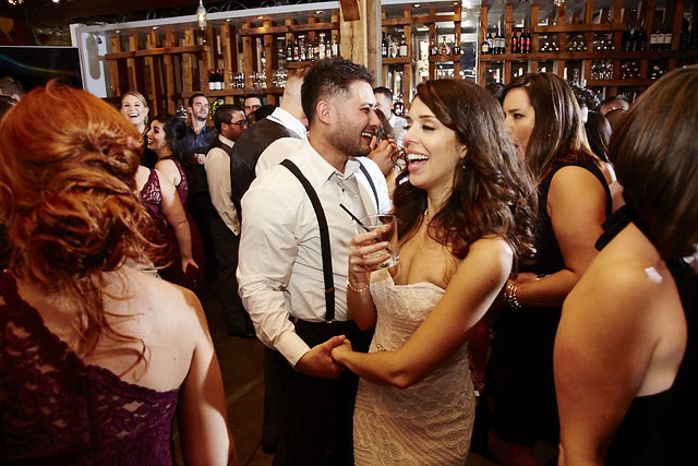 Wedding at Archeo, Distillery District, photo by Silverlight Photography