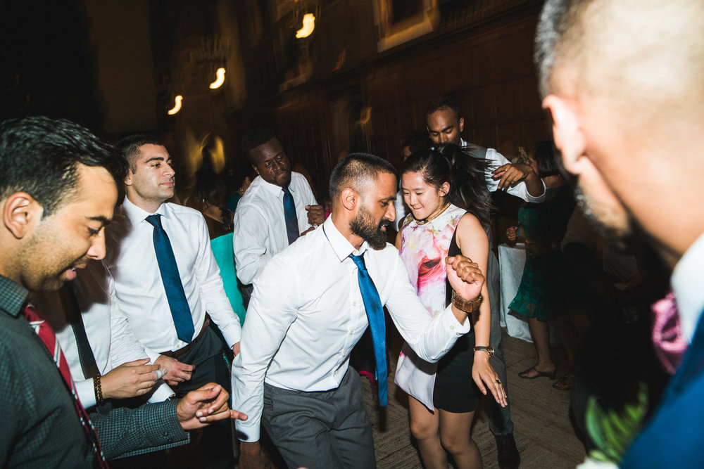 Wedding at Hart House U of T