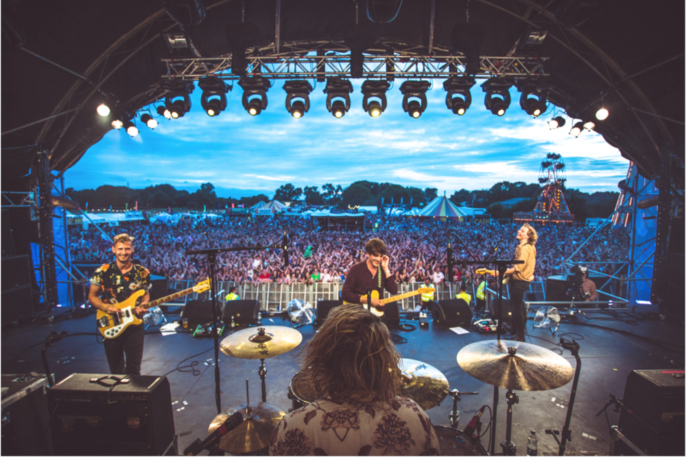 Liverpool's Circa Waves (pictured) playing the Main Stage at last year's Truck Festival.Image: Truck Festival Gallery