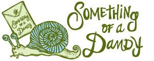 Something of a Dandy Logo