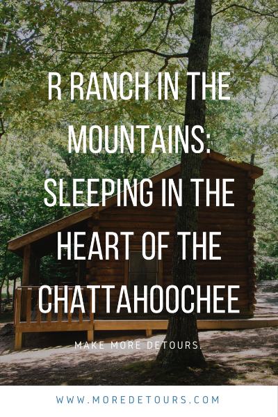 R Ranch in the Mountains is an amazing place to take your family in Blue Ridge.