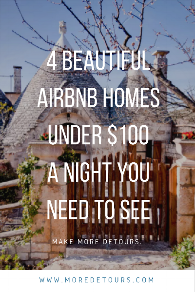 There are so many Beautiful Airbnb Homes I'm dreaming of visiting. Here are 4 of them I can't get out of my head!