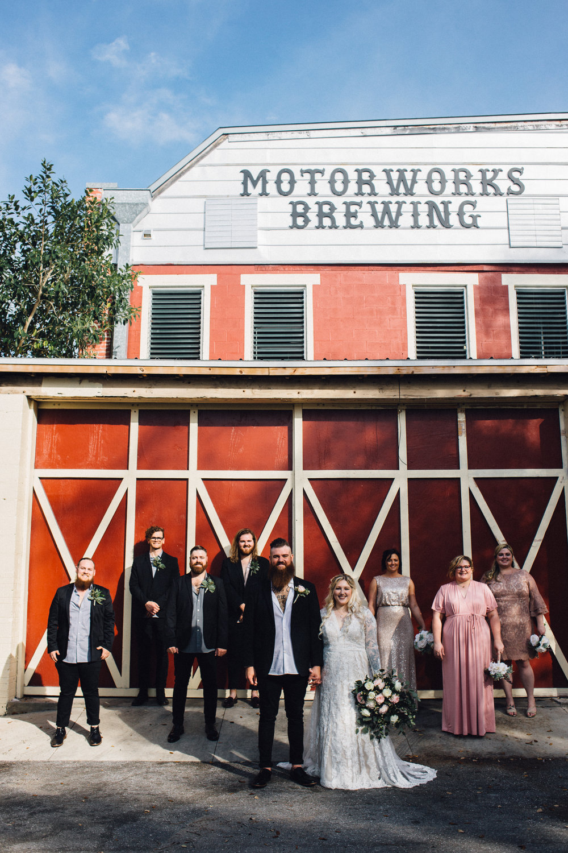 Bradenton Brewery Wedding