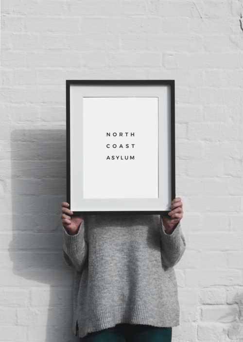 40x50cm Frame — NORTH COAST ASYLUM