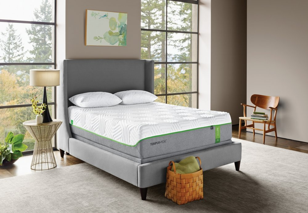 TempurPedic - Years of research have led to the unique feel and benefits of the TEMPUR-PEDIC. Carefully developed TEMPUR material responds to your weight, body heat, and shape to give you a personalized sleep experience that will change your nights and your mornings.