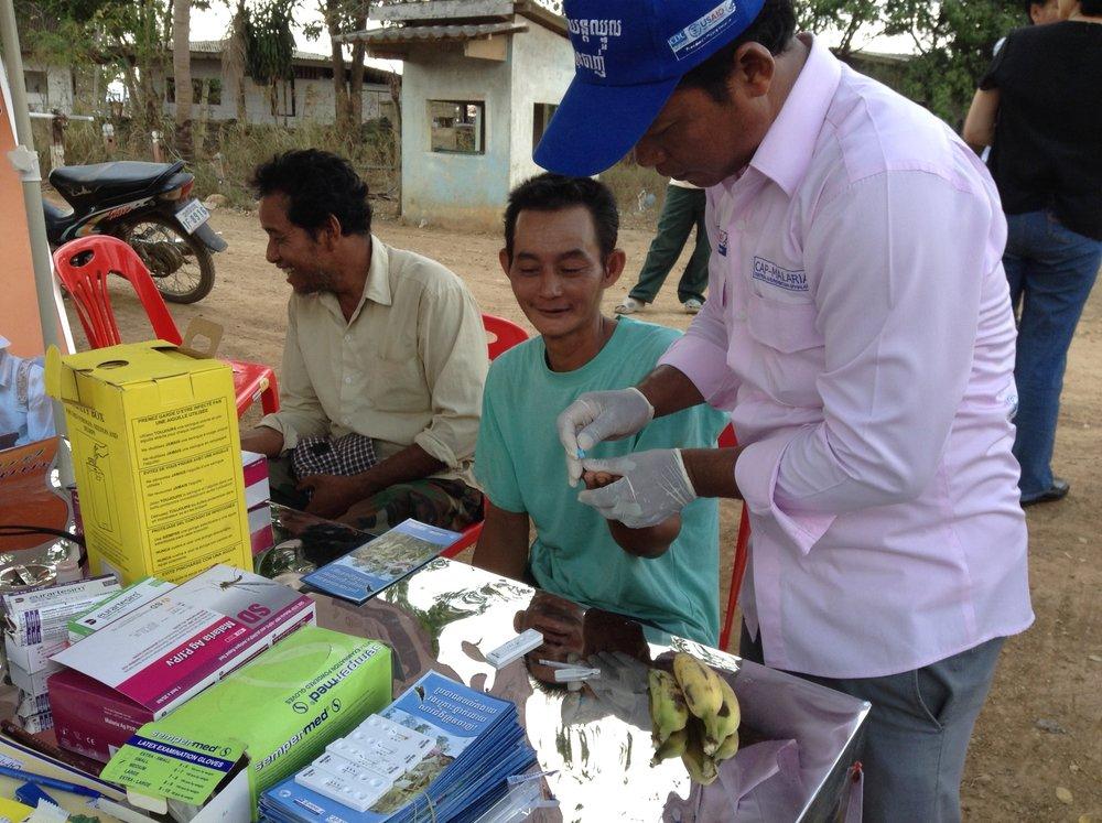 Villagers malaria study Cambodia 2015 - Cambodia