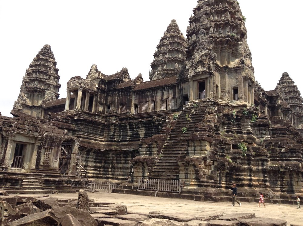 Angkor Wat famous Khmer temple complex - Cambodia