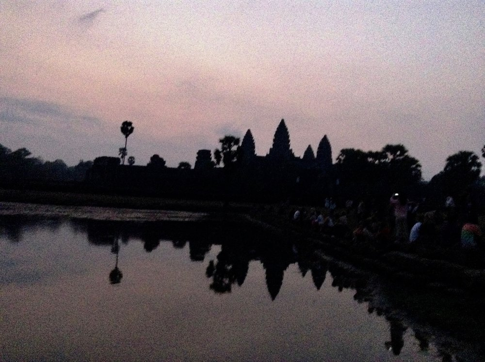 Angkor Wat famous Khmer temple complex (2) - Cambodia