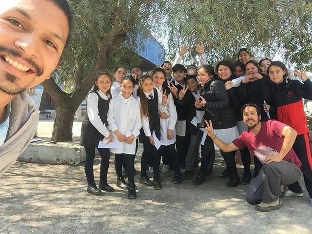 Cerramos nuestra primera etapa con un gran grupo...Taller de medio ambiente Colegio Rosa Elvira Matte...Nos vemos el 2018 👐 #saliendoaprendo  #REM